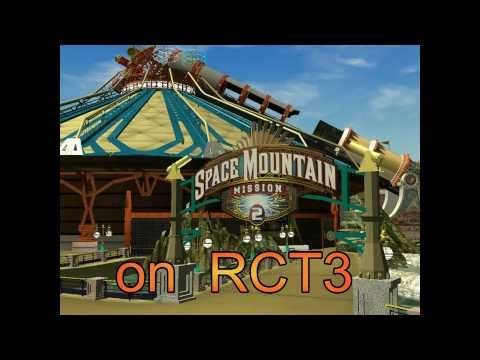 RCT3 Space Mountain Mission 2 v2 trailer - YouTube