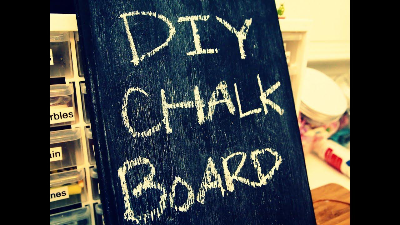 diy chalkboard chalk youtube