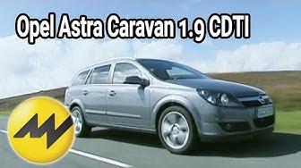 Opel Astra Caravan 1.9 CDTI: Opels Kompakt-Kombi im Motorvision-Test