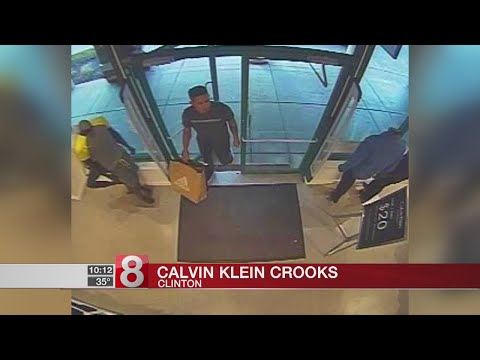 Clinton police investigate 2 separate shoplifting incidents at Calvin Klein store