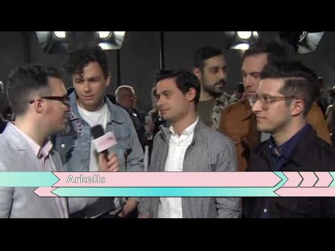 Arkells on the Red Carpet at the 2018 JUNO Awards