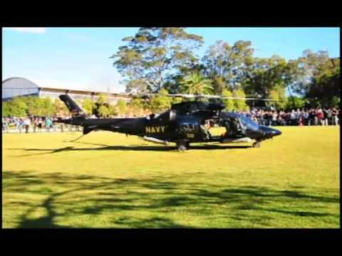 Helicopter Landing on Campus, University of Sydney