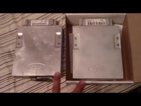 86-93 Mustang 5 0 Foxbody ecu differences (How to tell) - YouTube
