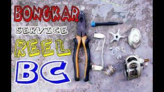 Bongkar dan service Reel Baitcasting Sougayilang
