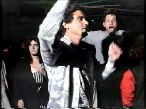 ESTACION ANDORRA FM 1989 - EMISIONES TV - Reportaje FIESTAS SAN MACARIO ANDORRA (TERUEL)