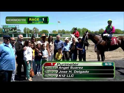 video thumbnail for MONMOUTH PARK 5-11-19 RACE 1