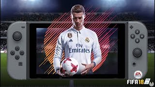 Así es FIFA 18 en NINTENDO SWITCH - GAMEPLAY