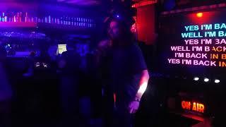 Back In Black-Live Karaoke Fun