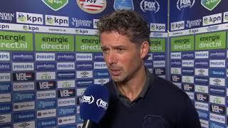 FC Utrecht trainer Jean Paul de Jong na afloop van de wedstrijd  PSV en FCU