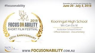 Kooringal High School - We Can Do It!