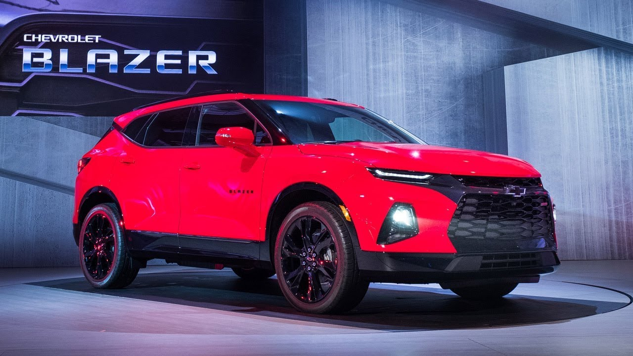 2019 Chevrolet Blazer – Reveal - YouTube
