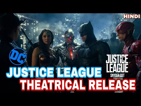 ZACK SNYDER'S JUSTICE LEAGUE  RELEASE IN THEATERS IN 2021| HBO MAX | HINDI