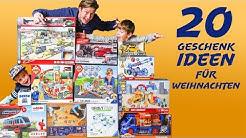 20 Geschenkideen für Jungs und Kinder von 3-12 Jahre