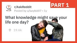 Watching This Could Save Your Life. r/AskReddit Survival Tips
