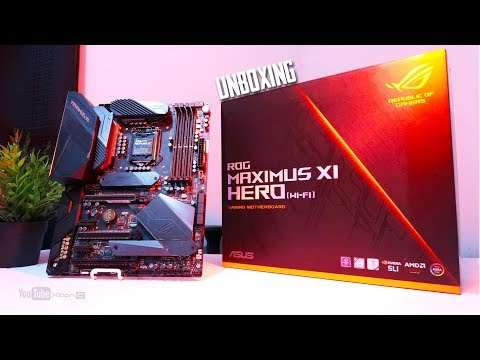 VLOG: ROG Maximus XI Hero Wi-fi Gaming Motherboard Unboxing [Ph]