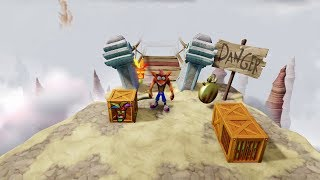 Crash Bandicoot N.Sane Trilogy - Road to Nowhere (2-4) Time Trial Gold Relic