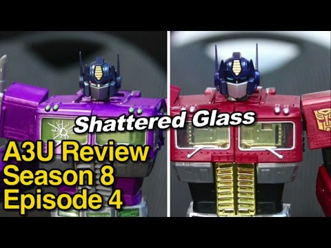 Shattered Glass MP Optimus Prime vs Year of the Horse - [A3U Review S8 E4]