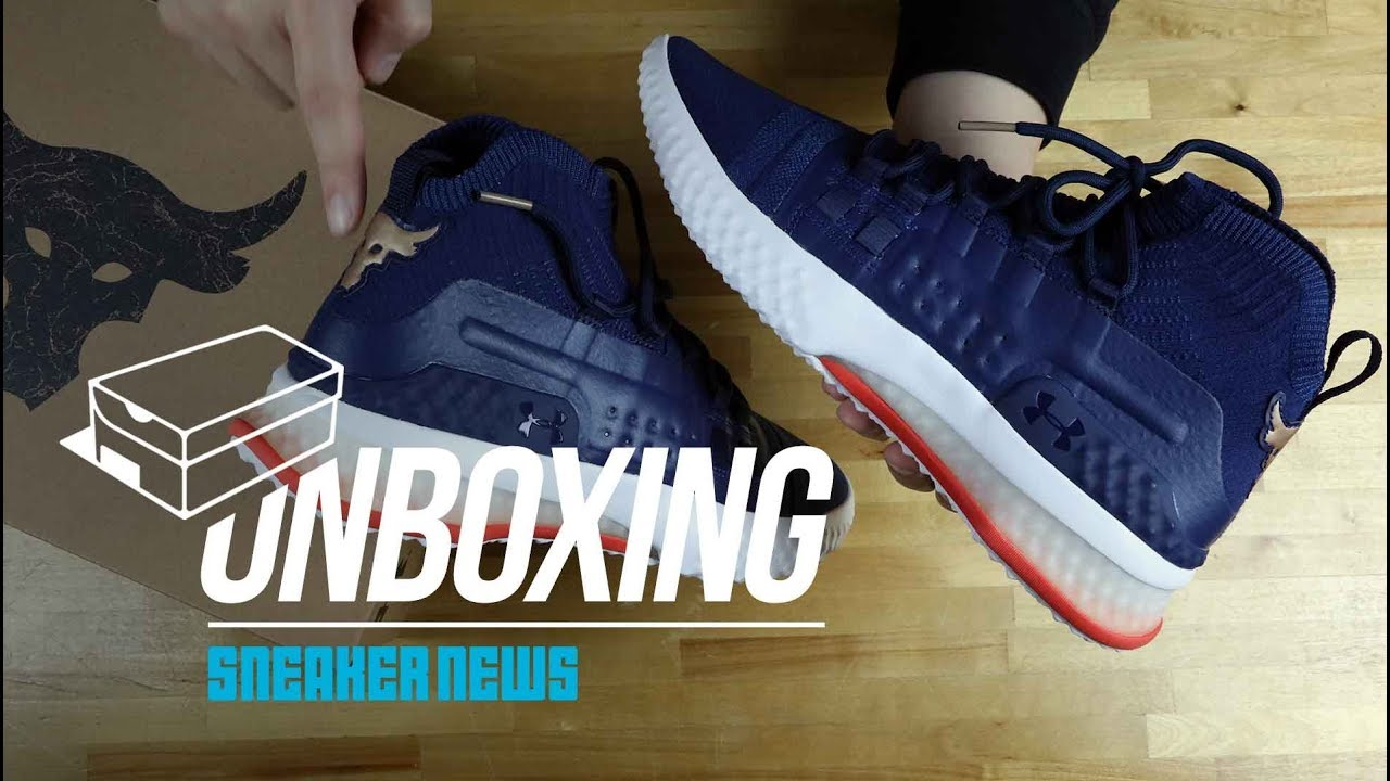 abeb710e3 Unboxing The Rock / UA Signature Shoe, The Project Rock 1 - YouTube