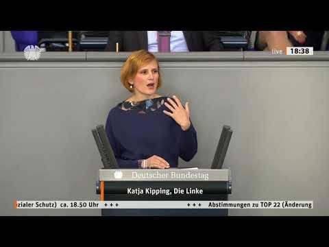 Katja Kipping, DIE LINKE: Für eine sozialen Schutzschirm, der auch die Ärmsten schützt from YouTube · Duration:  3 minutes 40 seconds