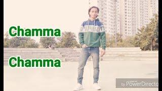 Chamma Chamma Dance video | Fraudy Saiyaan Elli Avram, Arshad | Tanishk, Neha Kakkar | ANKUR