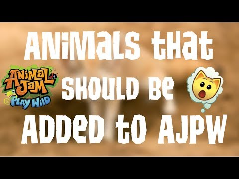 Animals That Should Be Added To AJPW! | Animal Jam Play Wild