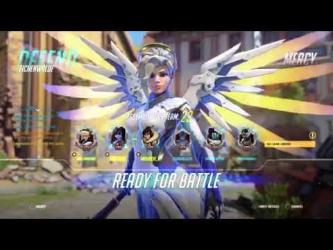 Overwatch | Mercy Can't Take the Pressure! But it was Fantastic!
