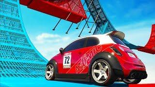 Эпично сбил Руфа или 1 шанс на миллион!! Веселые гонки Трансформации GTA 5 Online!