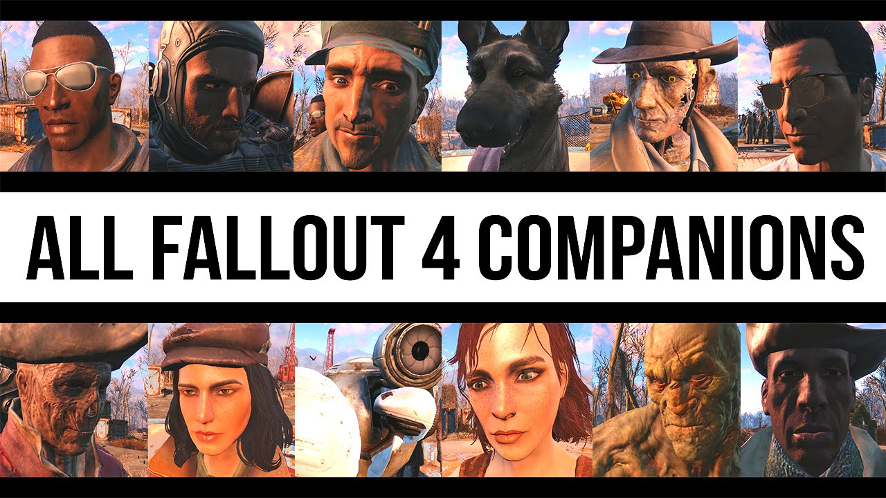 Image result for Fallout 4 Companions