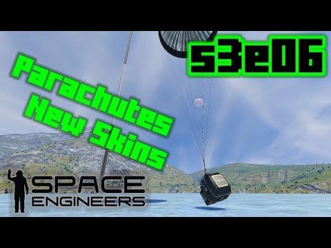 Sick Parachutes Bro - Space Engineers S3E06