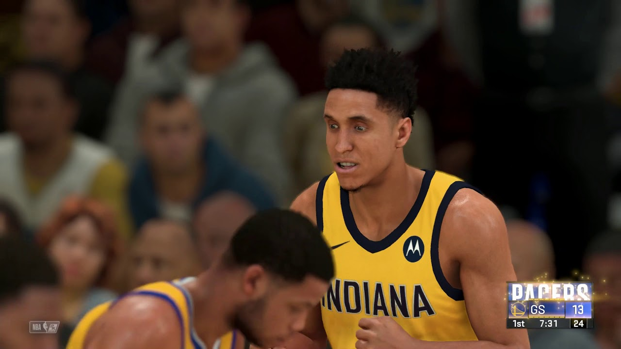 NBA 2K20 - Indiana Pacers vs Golden State Warriors - YouTube