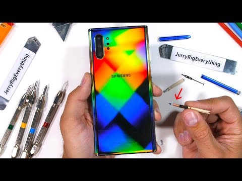 Samsung Galaxy Note 10+ 5G gets durability tested (Video)