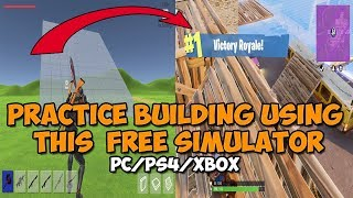 [FaZe Tfue] FORTNITE BUILDING SIMULATOR - FREE DOWNLOAD [PS4/PC/XBOX PLAYERS]