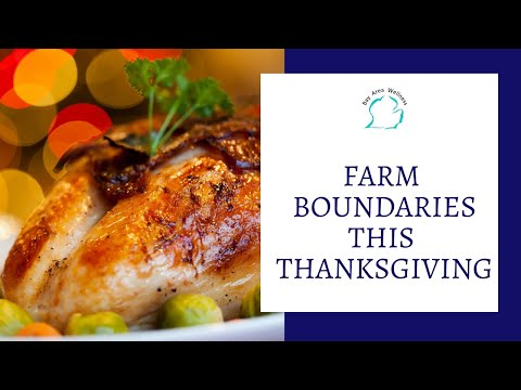How to Create Boundaries This Thanksgiving