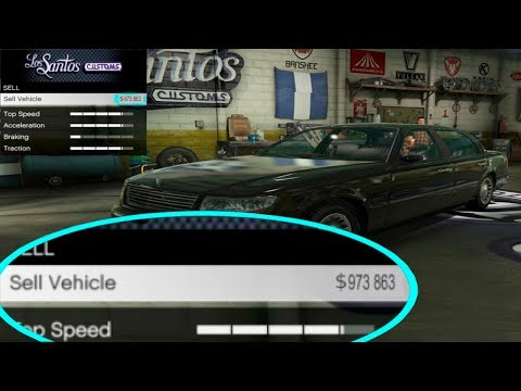 How To Sell Any Street Car For 900,000 Without Upgrades (GTA 5 Online Money Glitch)100% legit 1.40