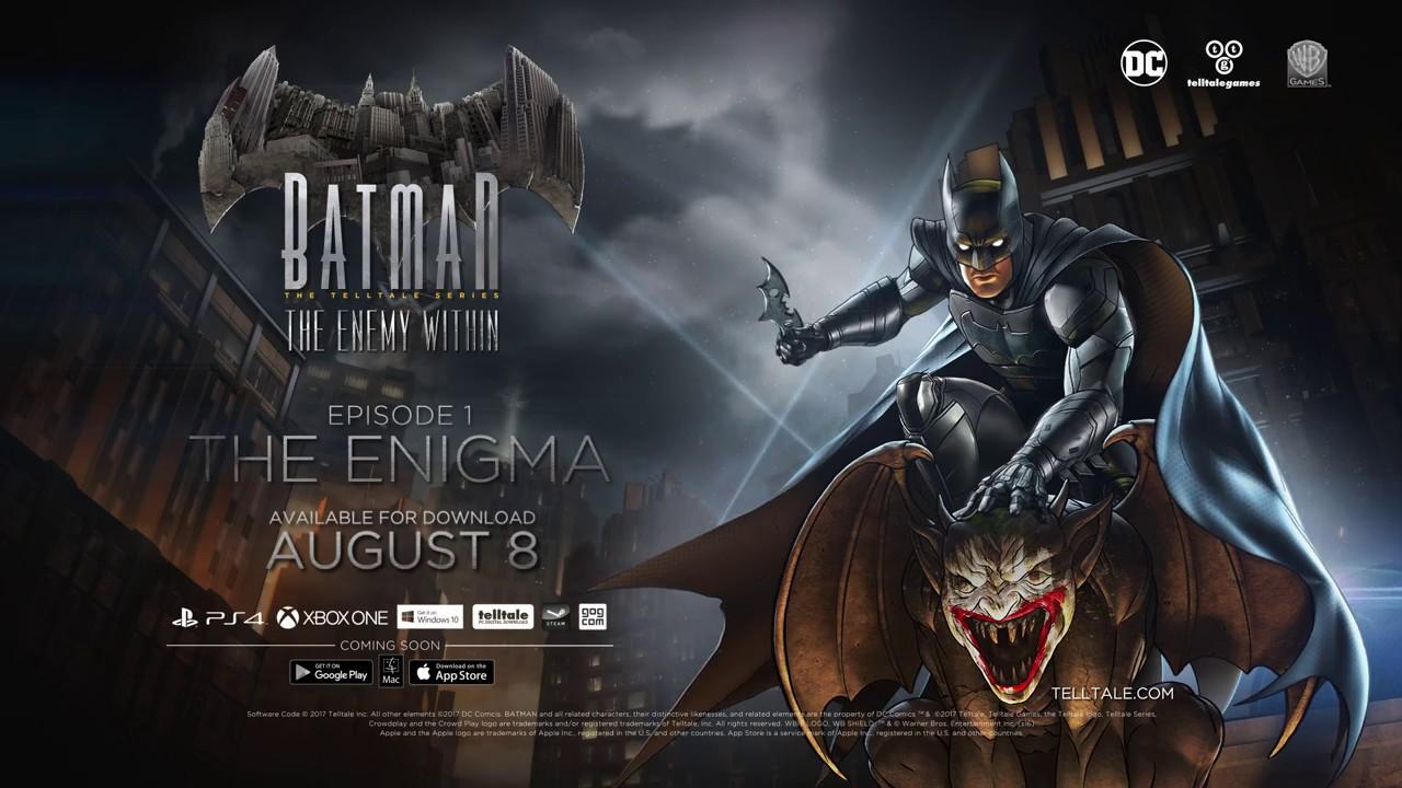 Trailer de Lancement Batman : The Telltale Series L'Ennemi à l'Intérieur