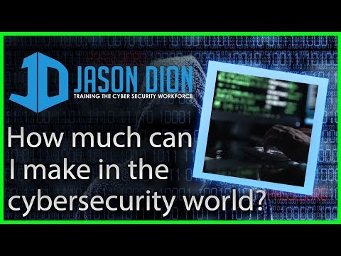 What is the salary in the cybersecurity world? (The DegreeLess InfoSec Career)