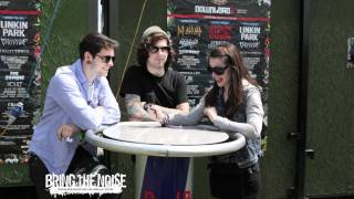 Bring The Noise UK - The Devil Wears Prada Interviewed at Download Festival 2011