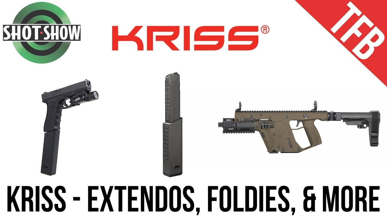 [SHOT Show 2019] KRISS - Vector Updates, Foldies, & Extendos!