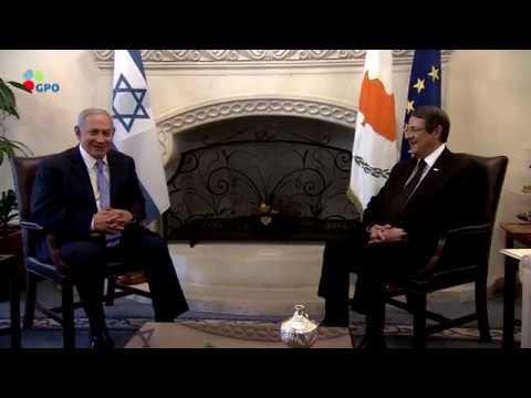 PM Netanyahu Arrives in Cyprus