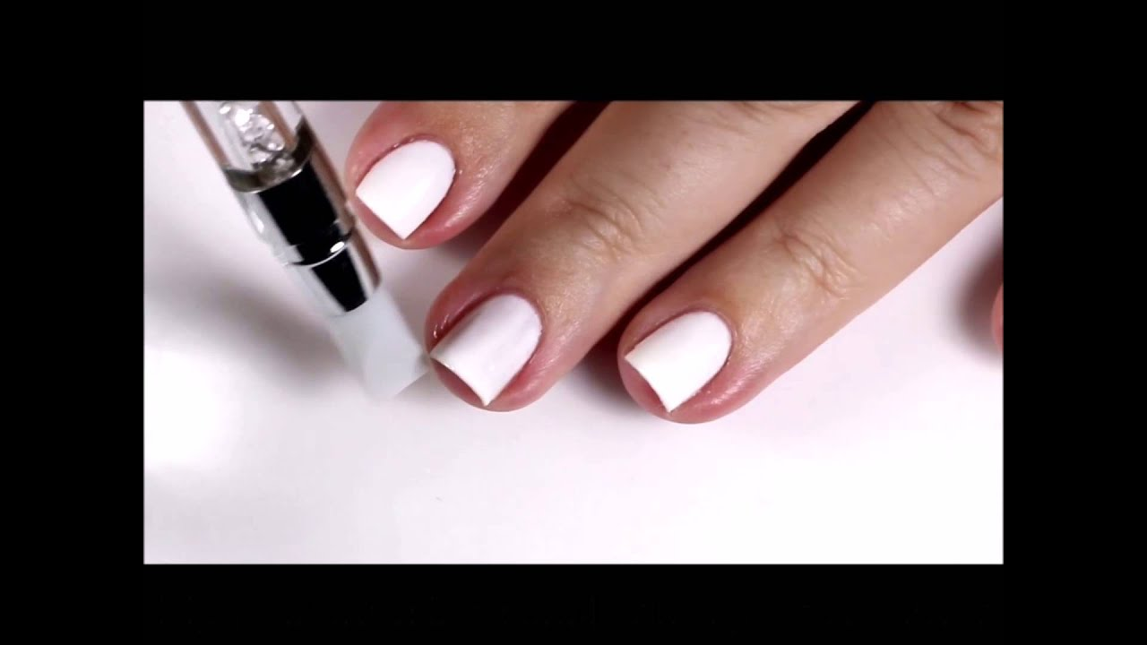 Clean Up with Silicone Nail Art Brushes - YouTube