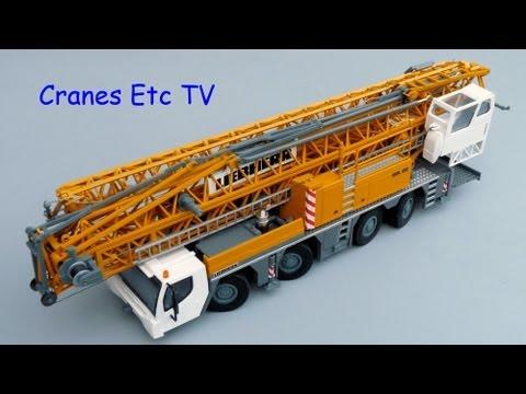 Conrad Liebherr MK 88 Mobile Crane by Cranes Etc TV