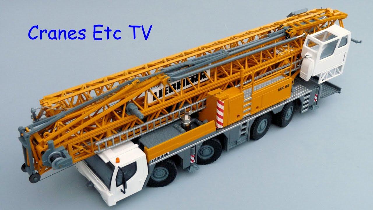 conrad liebherr mk 88 mobile crane by cranes etc tv youtube. Black Bedroom Furniture Sets. Home Design Ideas
