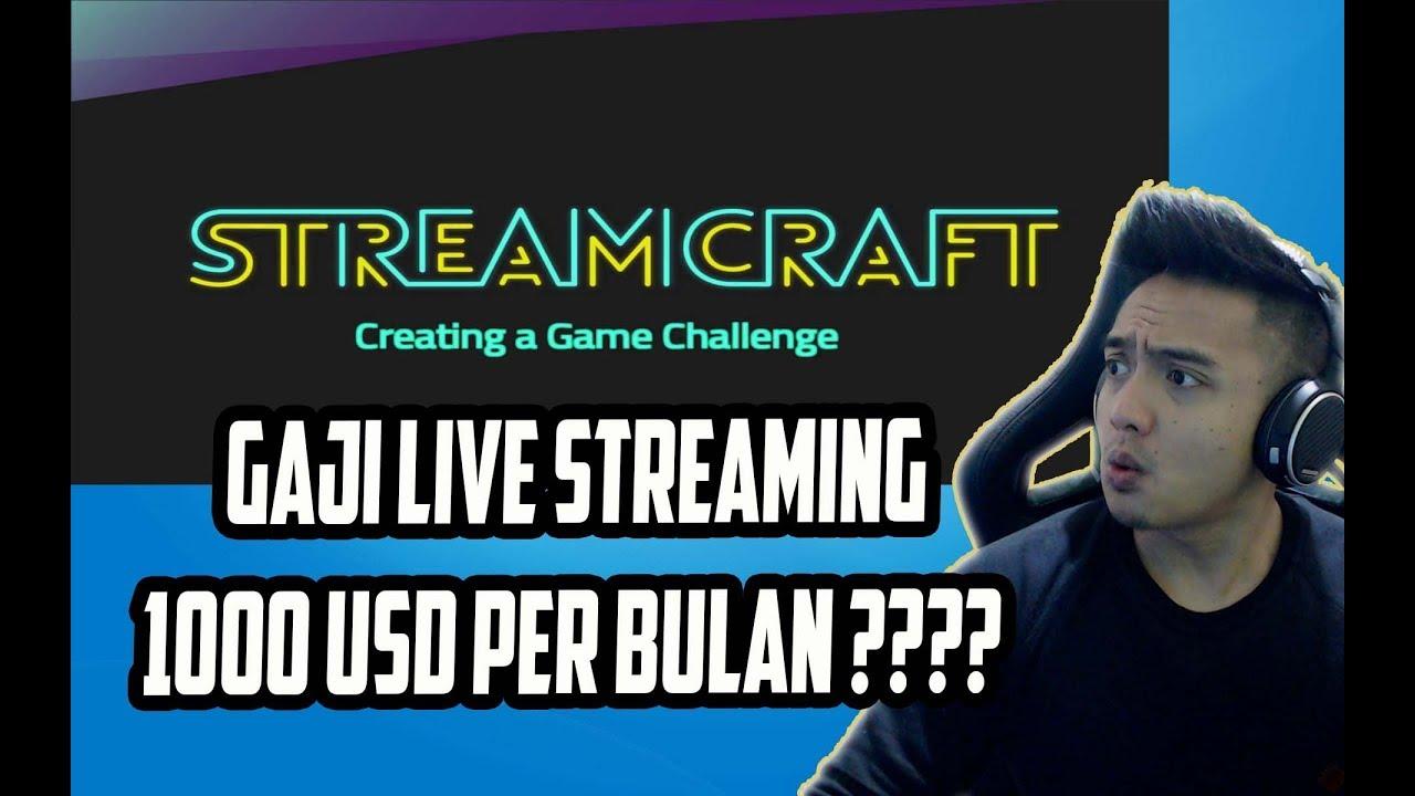 cara mendapatkan uang dari streamcraft aplikasi live streaming terbaru