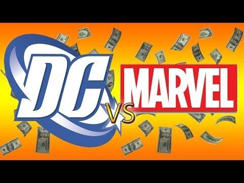 Marvel vs. DC: Who really makes more?