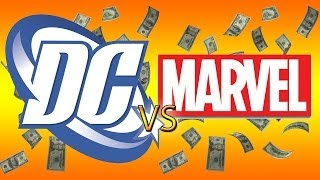 Marvel vs. DC: Who really makes more?