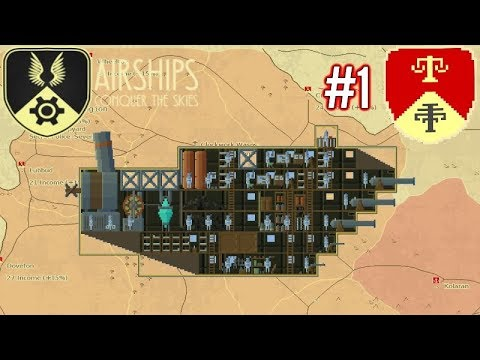 Airships: Conquer The Skies | Ep1 | The Legion Rises! | Conquest Gameplay