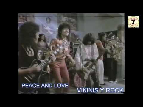 PEACE AND LOVE  VIKINIS Y ROCK