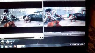 Сравнение 2D и 3D видео