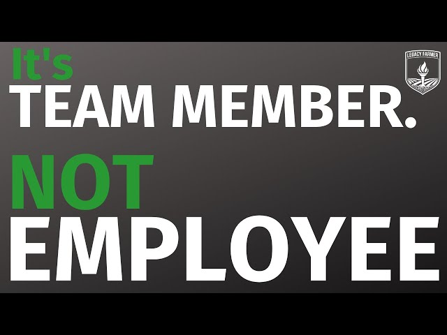 WHY Environment for Team Members Matter