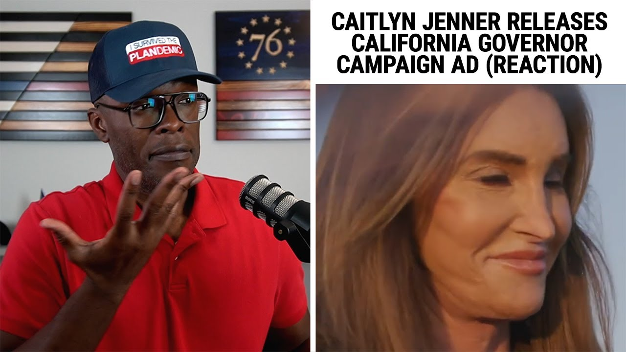 Caitlyn Jenner Posts CAMPAIGN AD For California Governor! (REACTION)